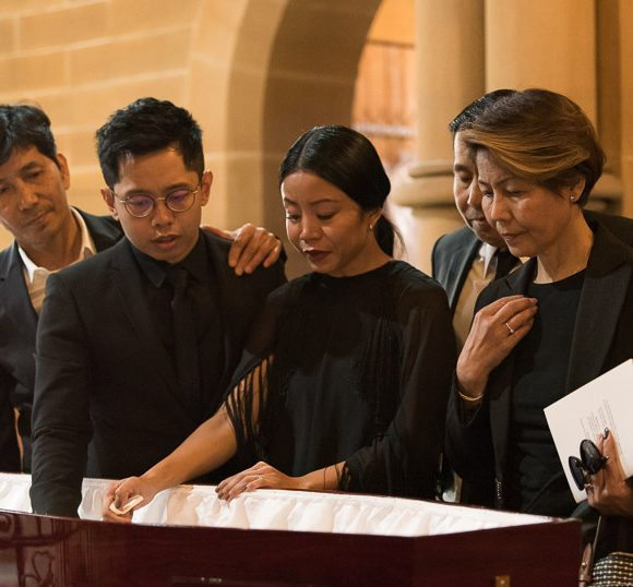 A Filipino funeral at St. Michael the Archangel Rookwood