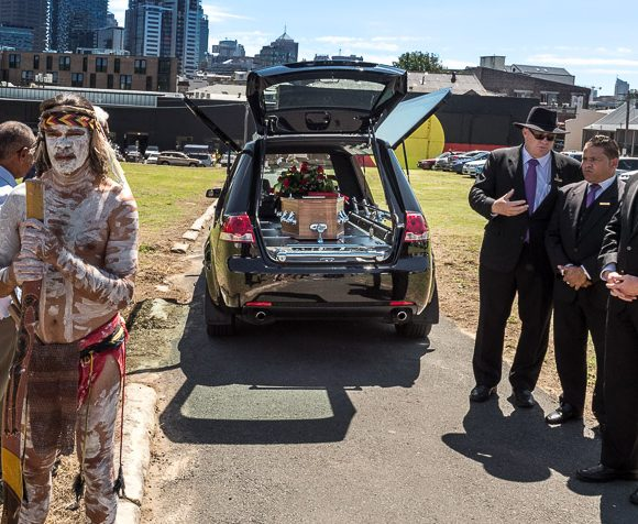 An Aboriginal Funeral at The Block