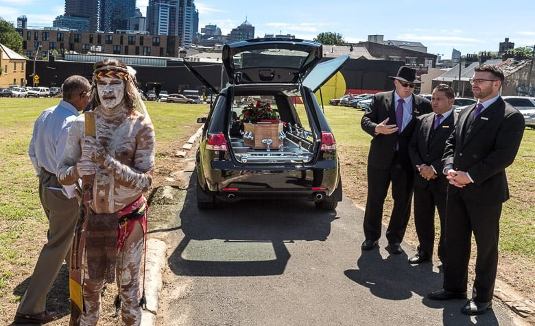 An Aboriginal Funeral at The Block